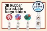 Custom Rubber Badge Holders