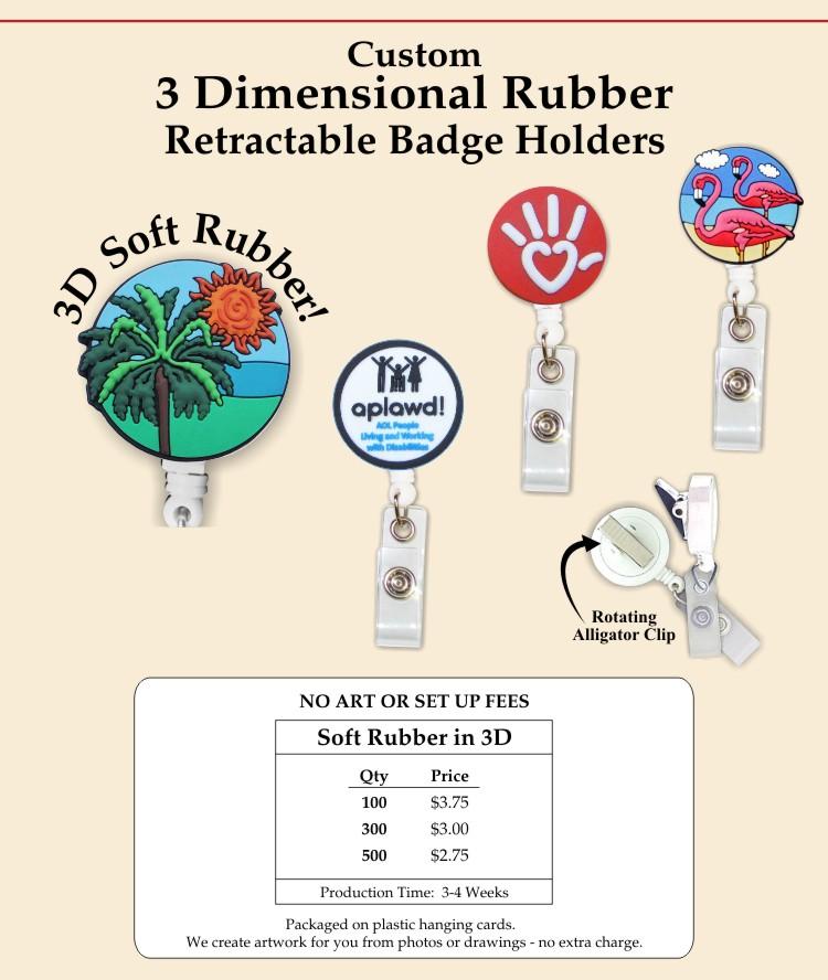 Custom Rubber Badge Holders