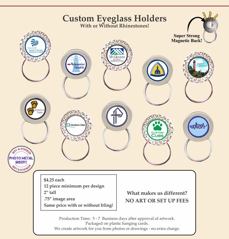 Custom Eyeglass Holders